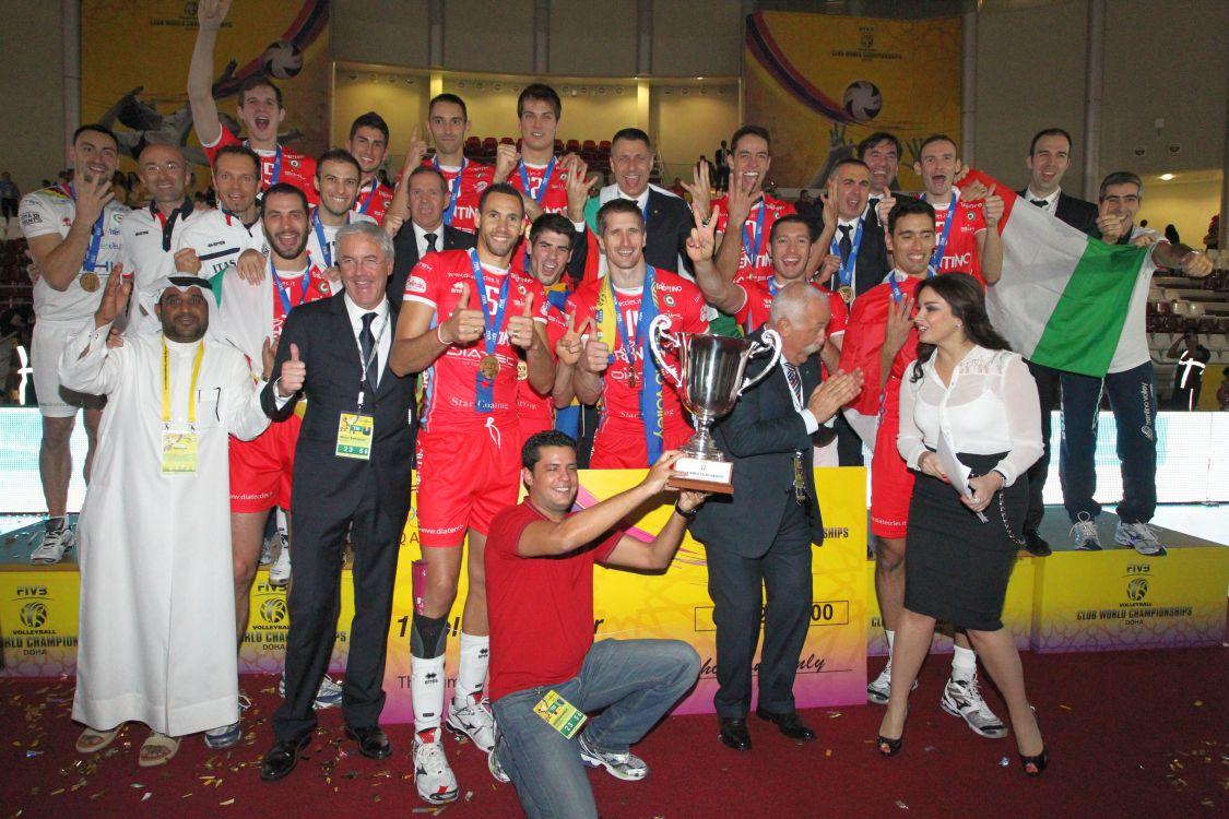 Trentino Diatec Campione del Mondo 2012