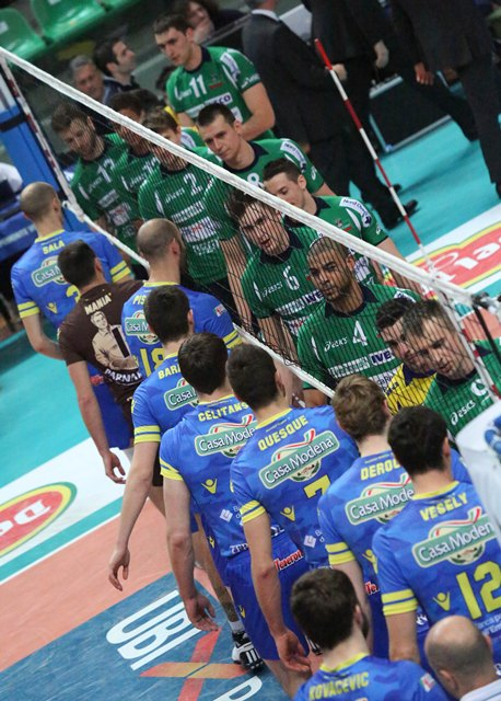 Volley maschile a1 la fotogallery di cuneo modena gli for Casa modena volley