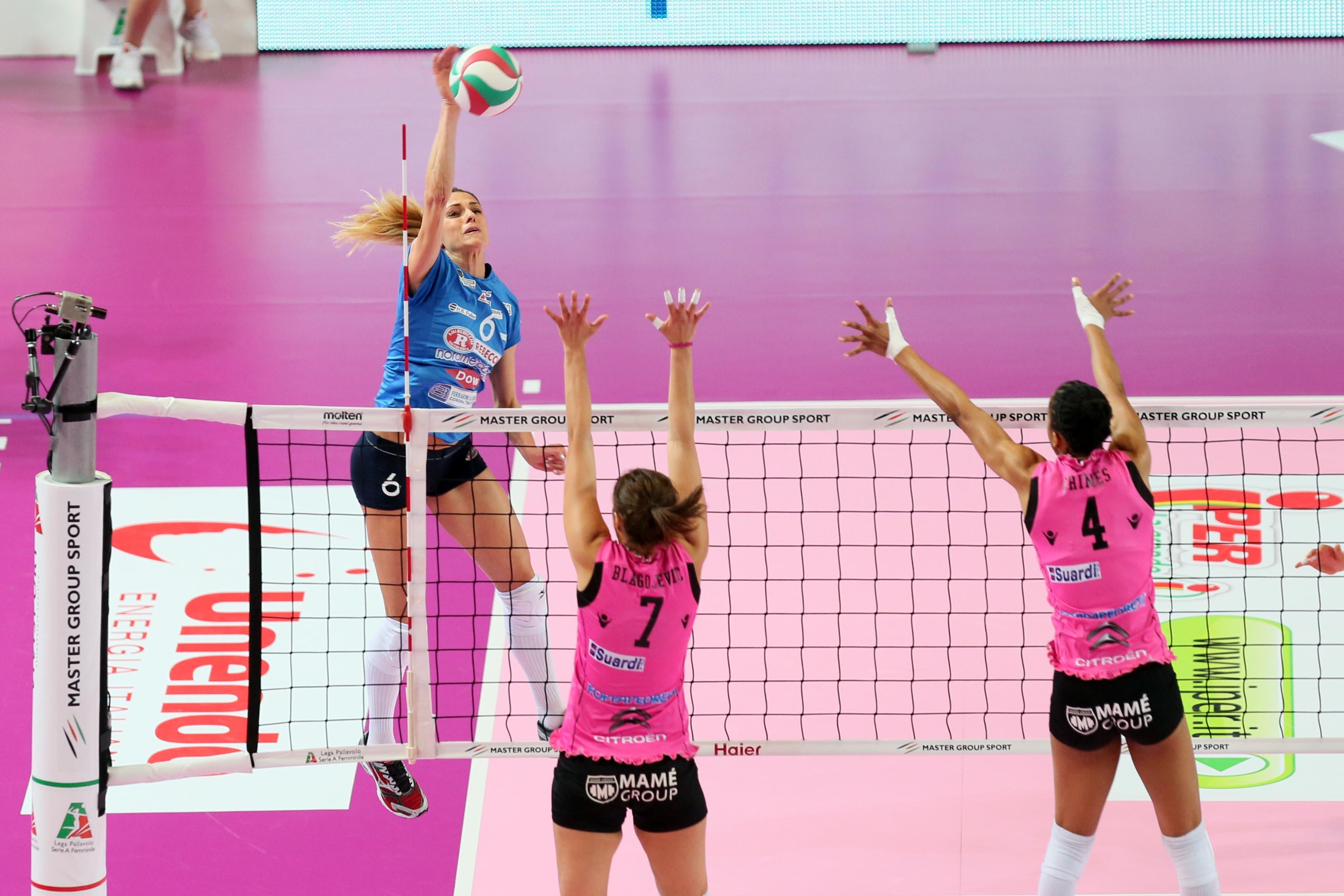 Volley_Femminile_serie_A1_Bergamo_Piacenza