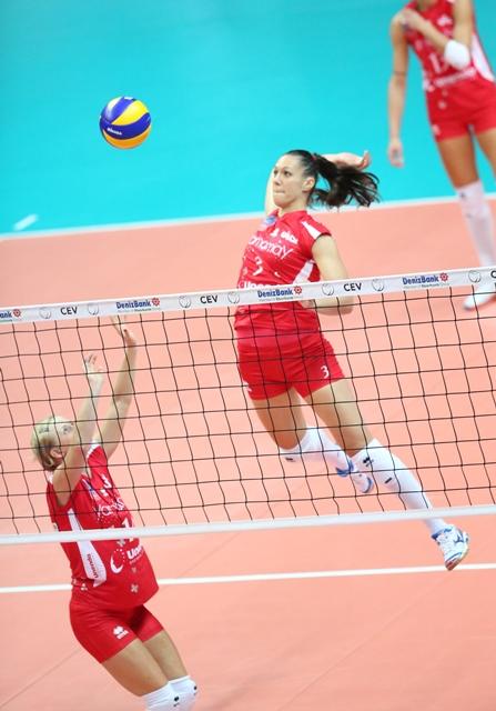 Ilaria Garzaro in attacco