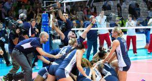 Mondiali Volley Femminili 2014 – La fotogallery della finale Usa-Cina 3-1. Scatti di Perin e Zanutto