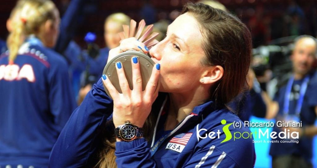 Nicole Davis, campionessa del Mondo in carica