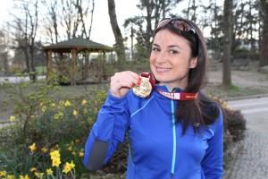 Running Charlotte ha corso l'ultima Maratona di Roma