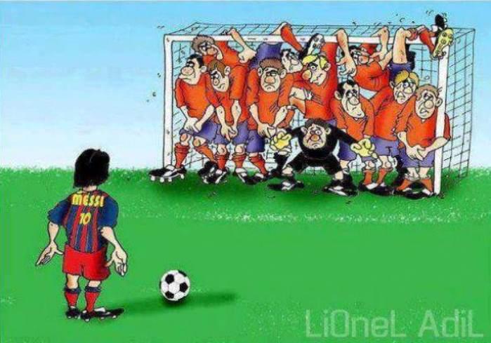 Lionel Messi e un gol meraviglioso