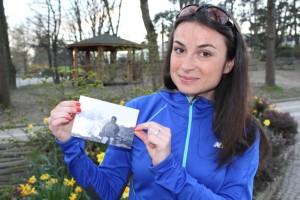 Running Charlotte ama la montagna della Valle d'Aosta, la sua Regione