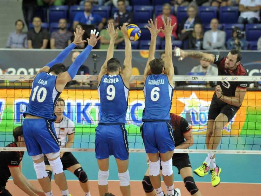 italia-germania europei volley