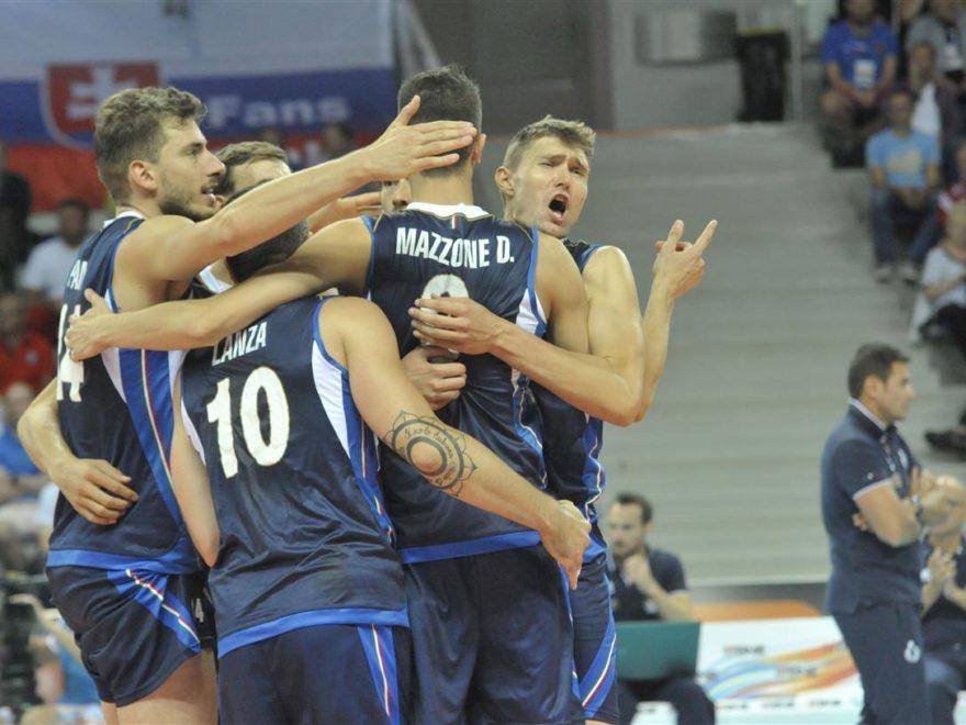 Italia-Slovacchia Europei volley
