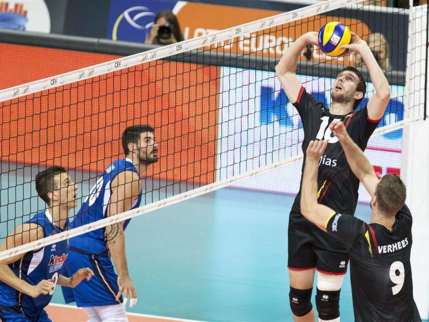 Europei Volley Italia-Belgio 0-3